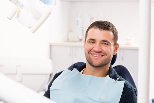 Dental Patient in Chair | Dentist in Norfolk MA